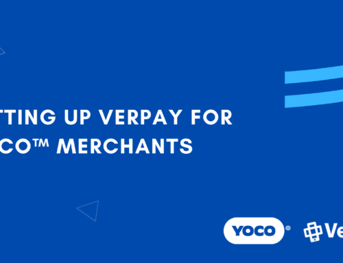 Setting up VerPay for Yoco™ Merchants